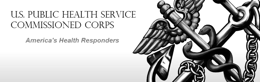 Banner: U.S. Public Health Service Commissioned Corps. America's Health Responders.